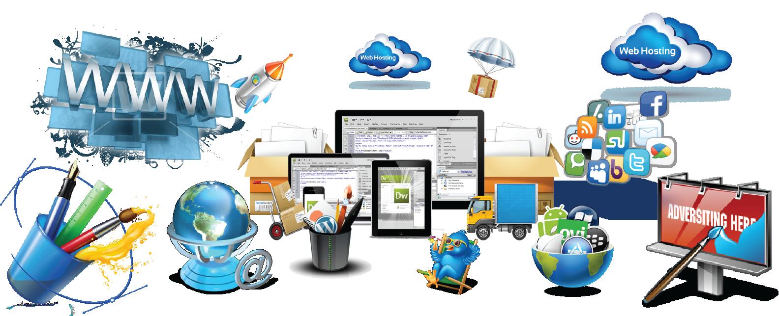 Ecommerce website design, Ecommerce website development